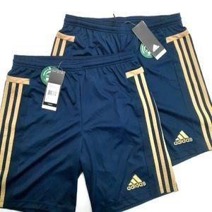 Boys Large Adidas Shorts 2 Pairs Size L